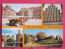 Pologne - Varsovie - Posdrowienia Z Warszawy - 1980 - Scans Recto-verso - Pologne
