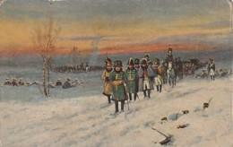 ***  CARTE éd RUSSE  ** Souvenir -  Napoléon En Russie 1812 - TB - History