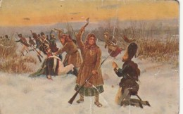 ***  CARTE éd RUSSE  ** Souvenir -  Napoléon En Russie 1812 - Dos Salep - History