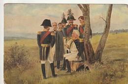 ***  CARTE éd RUSSE  ** Souvenir -  Napoléon En Russie 1812 - Dos Sale - History