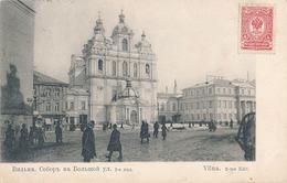 VILNA - VUE DE LA PLACE - Lituanie