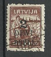 LETTLAND Latvia 1920 Michel 59 O - Lettonia