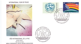 WIEN INTERNATIONAL YEAR PEACE 1986 COVER   (MAGG190002) - Joint Issues