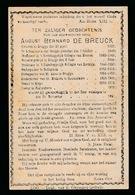 PASTOOR SLYPE & POLLINKHOVE AUGUST DE BREUCK - BRUGGE 1820  POLLINKHOVE 1897 - Décès