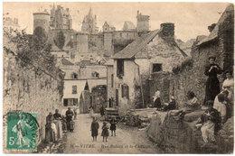VITRE - Rue Balazé Et Le Chateau   (113880) - Vitre