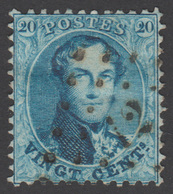 COB 15 - Dent. 12 ½ X 13 ½ - Obl. Pts. N°12 (ANVERS) - 1863-1864 Medallions (13/16)
