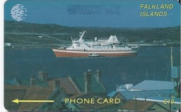 FALKLAND ISLANDS - CRUISE SHIP - 2CWFB - Falkland Islands