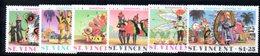 CI1065 - SAINT VINCENT 1975, Serie Yvert N. 380/385   ***  Carnevale - St.Vincent (1979-...)