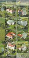 HR 2019-1384-7 CROATIA'S CASTLES, HRVATSKA CROATIA, 1 X 4v, MNH - Schlösser U. Burgen