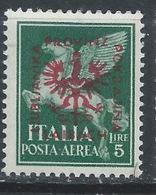Yougoslavie - Lubiana - Slovénie - Occ Allemande YT PA 7 Sassone PA 7 XX / MNH - Occup. Tedesca: Lubiana