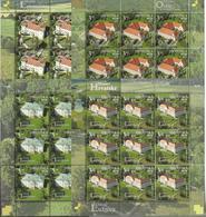 HR 2019-1384-7 CROATIA'S CASTLES, HRVATSKA CROATIA, 4MS. MNH - Schlösser U. Burgen