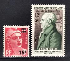 FRANCE 1954 - Y.T. N° 968 ET 969 - NEUFS** /7 - France