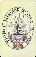 FALKLAND ISLANDS - HERITAGE YEAR 1992 - Falkland Islands