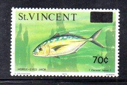 CI1066 - SAINT VINCENT 1976, Serie Yvert N. 442/443   ***  Pesci Fish - St.Vincent (1979-...)