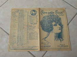 Chère Petite Chose ! (Fox Trot)-(Paroles E. Dumont)-(Musique F.L. Bénech) Partition 1923 - Liederbücher
