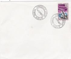 TAAF   :  Yvert 23 . Oblitération 1er  Jour Terre Adélie Du 4 Mars 1967 - Terres Australes Et Antarctiques Françaises (TAAF)