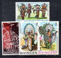 CI1045 - SAINT VINCENT 1969, Serie Yvert N. 246/249   ***  Carnevale - St.Vincent (1979-...)