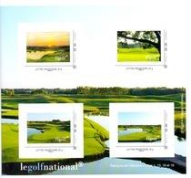 France - Golf : Carnet 4 Timbres (Booklet) Fédération Française De Golf - Golf