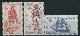 1941 Oceania, Difesa Dell'impero, Serie Completa Nuova (*) Linguellata - Nuovi
