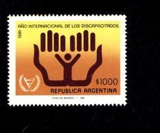 7712001444 1981 SCOTT 1318 POSTFRIS  MINT NEVER HINGED EINWANDFREI  (XX) - INTL YEAR OF THE DISABLED - Neufs