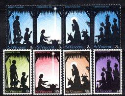 CI1360c - SAINT VINCENT 1974, Serie Yvert N. 372/3799   ***  Natale Christmas - St.Vincent (1979-...)