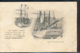""""""" Le Francais """" Quittant Le Port Du Havre, Pour Son Expedition Antarctique - Voiliers"""