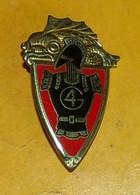 4° Régiment Du Génie, émail, Dos Guilloché, FABRICANT DRAGO PARIS,HOMOLOGATION 211, ETAT VOIR PHOTO  . POUR TOUT RENSEIG - Esercito