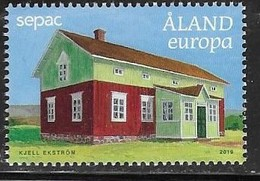 ALAND, 2019, MNH, SEPAC, HOUSES,1v - Joint Issues