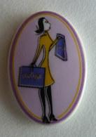 FEVE PUBLICITAIRE Perso - LENÔTRE -  BOUTIQUE 2004 Violet Tour Violet - Anciennes