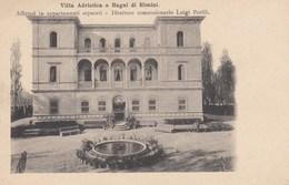 BAGNI DI RIMINI-RIMINI-VILLA ADRIATICA-CARTOLINA NON VIAGGIATA ANNO 1900-1904 - Rimini