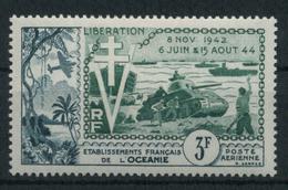 1942 Oceania, Posta Aerea Liberazione  , Serie Completa Nuova (*) Linguellata - Oceania (1892-1958)