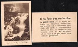 Chromos & Images > Non Classés Cauterets Cascade  Faut Pas Confondre La Quintonine - Old Paper