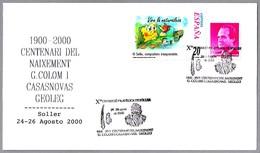 100 Años Nacimiento Geologo COLOM I CASASNOVAS. Soller, Baleares, 2000 - Geología