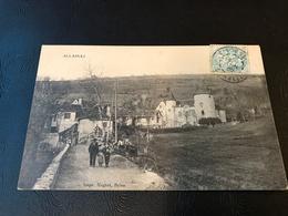 ALLASSAC (Correze) 1905 Timbrée - Autres Communes