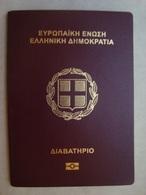 Greece Expired Collectible Biometric Passport Reisepass Passeport - Documents Historiques
