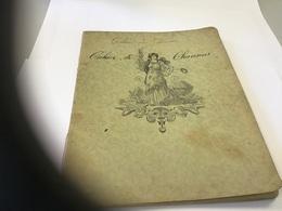 Cahier De Chansons Chansons  Sentimental - Buvards, Protège-cahiers Illustrés