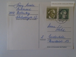 D163882 Postcard 7919 Bellenberg Schwaben - 1973 - Briefe U. Dokumente