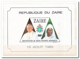 Zaïre 1986, Postfris MNH, Beatification Of Sister Anuarite Nengapeta - Zaïre