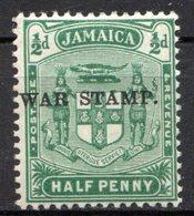 JAMAIQUE - (Colonie Britannique) - 1916 - N° 69 à 73 - (Lot De 4 Valeurs Différentes) - (George V Et Armoiries) - Jamaica (...-1961)