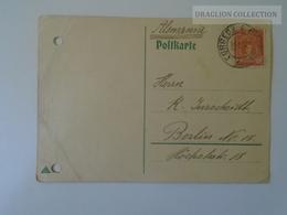 D163883 PERU  Postcard  1929 - Punched Holes - Pérou