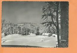 CPSM Grand Format - VENTRON - L'Ermitage Du Vénérable Frère Joseph - Champ De Ski - France