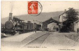 LAMALOU LES BAINS - La Gare     (532 ASO) - Lamalou Les Bains