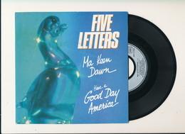"""FIVE LETTERS """" MA KEEN DAWN """" Disque ATROPA RECORDS 1980   TRES BON ETAT !! - Rock"""