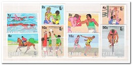 Zaïre 1985, Postfris MNH, Sport - 1980-89: Ongebruikt