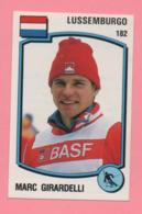 Figurina Panini 1988 N°182 - Marc Girardelli - Sport Invernali