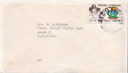 Postal History Cover: Brazil Stamp On Cover - Covers
