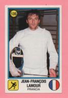 Figurina Panini 1988 N°135 - Scherma - Jean-Francois Lamour - Fencing
