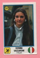 Figurina Panini 1988 N°137 - Scherma - Dorina Vaccaroni - Escrime