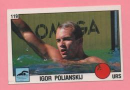 Figurina Panini 1988 N°119 - Nuoto - Igor Polianskij - Natación
