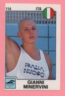 Figurina Panini 1988 N°114 - Nuoto - Gianni Minervini - Natación